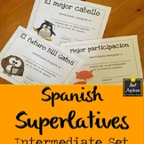 Spanish Superlatives - End of the Year Awards - Fun Theme