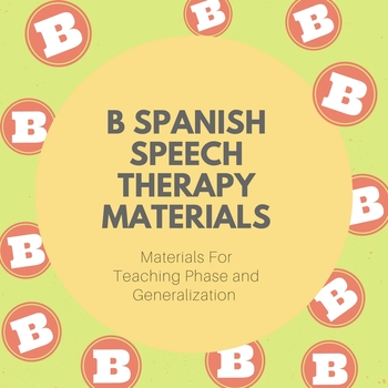 Spanish B Articulation Flashcards, Flashcard Games, Carry Over Games, and More!