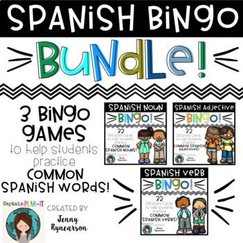 Spanish BINGO Bundle!