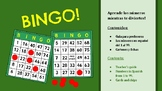 Spanish BINGO! Let's play! - Printable cards