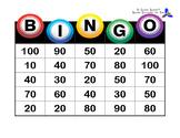 Spanish BINGO! (Numbers 10-100)