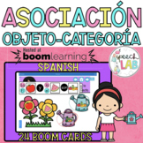 Spanish BOOM Cards | Object - Category Matching | Asociación