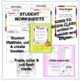 Spanish BUNDLE printables  -¡Todo sobre mí!, Opening & Endings Song and MORE