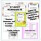 Spanish BUNDLE printables  -¡Todo sobre mí!, Opening & End