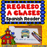 Spanish Back to School Activities : Mini Reader - Spanish High Frequency Words