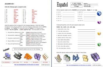 Spanish Back to School Bundle - Greetings, Numbers, Calendar, Alphabet