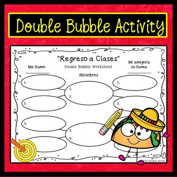 Spanish Back to School Conversation Activities (Regreso a Clases)