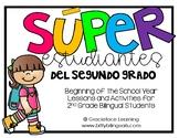 Spanish Back to School – Los súper estudiantes del segundo grado