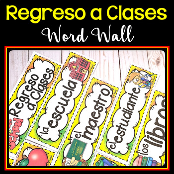 Spanish Back to School (Regreso a Clases) MEGA BUNDLE