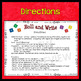 Back to School Spanish (Regreso a Clases) Roll & Write Ver