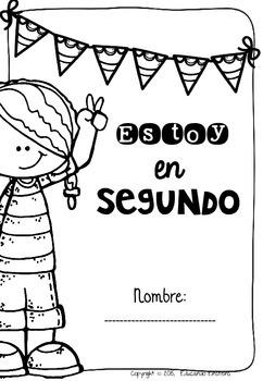 Spanish Back to School Second Grade. Bienvenidos a segundo