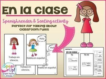 Spanish Back to School ~ La Escuela ~ Bundle en español