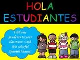 Spanish Banner- Hola Estudiantes