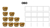 Spanish Bar Graph for Dual Immersion- oso/bear theme