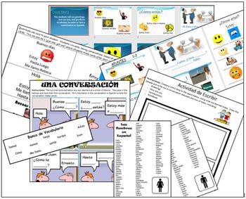 Spanish Basic Conversation Full Lesson Plan