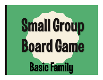 Spanish Basic Family Board Game
