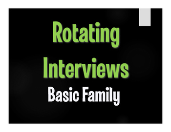 Spanish Basic Family Rotating Interviews