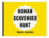 Spanish Basic Gustar Human Scavenger Hunt