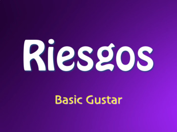 Spanish Basic Gustar Jeopardy-Style Review Game