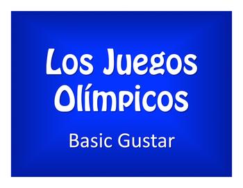Spanish Basic Gustar Olympics