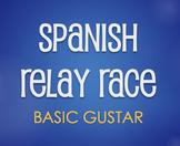 Spanish Basic Gustar Relay Race