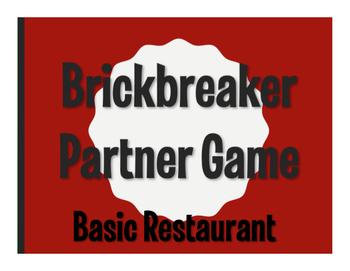 Spanish Basic Restaurant Brickbreaker Game