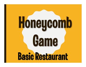Spanish Basic Restaurant Honeycomb Game