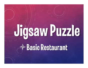 Spanish Basic Restaurant Jigsaw Puzzle