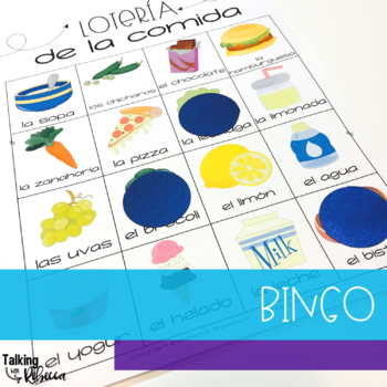 Spanish Speech Therapy Basic Vocabulary Activities: La Comida (Food)