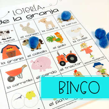 Spanish Basic Vocabulary Activities: La Granja