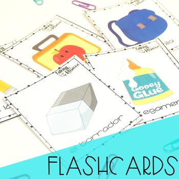 Spanish Basic Vocabulary: La Escuela