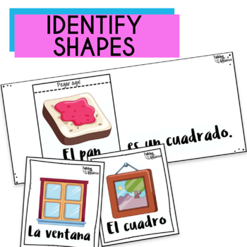 Spanish Speech Therapy Basic Vocabulary: Las Formas (Shapes)