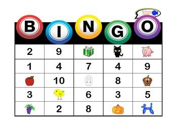 Spanish Basics BINGO! (Alphabet, Numbers 1-10 & Colors)