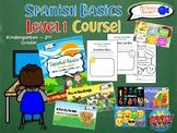Complete Course, Spanish Basics, Level 1 (Grades K-3)