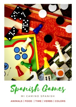 Spanish Basics Games Bundle!