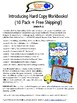 Spanish Basics Hard Copy Workbooks! - Grades K-2 (Ground shipping included!)