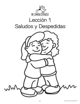 Spanish Basics (K-1st) - Lesson 1: Greetings, Goodbyes & Personal Pronouns