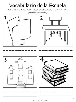 Spanish Basics (K-1st) - Lesson 4: Telling Time & School Vocabulary
