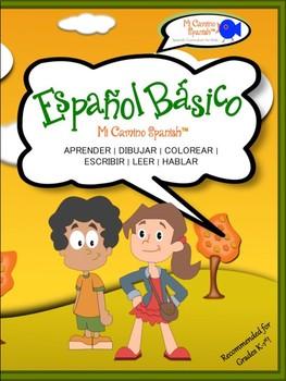 "Spanish Basics (K-1st) - Lesson 5: Common Verbs & ""Me Gusta"""