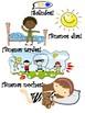 Spanish Basics Review & Visual Aids (Book 1)