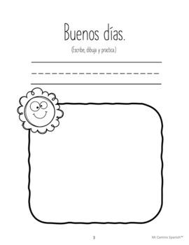 Spanish Basics Workbook for Grades K-1! Book 1 (Over 100 worksheets!)