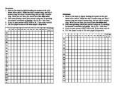 Spanish Battleship Numbers Practice Challenge