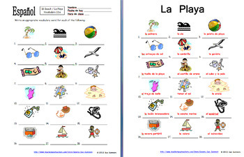 Spanish Beach Bundle of 5 - Vocabulary, Sketch, 2 Image IDs, and Puzzle