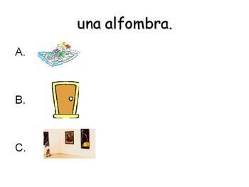Spanish Teaching Resources. Bedroom Furniture PowerPoint Presentation