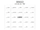 Spanish - Beginner - Definite and Indefinite Articles Bingo