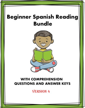 Spanish Beginner Readings Bundle - Lecturas en Español - 6 readings! (Version 2)