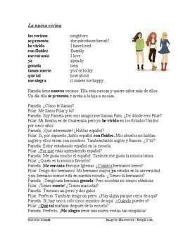 Spanish Beginner Readings Bundle - 4 Lecturas en Español (Version 2)