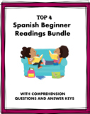 Spanish Beginner Readings - Familia, Escuela, Deportes, Am