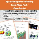 Spanish Beginner's Reading Comp Mega Pack (Spanish 1)
