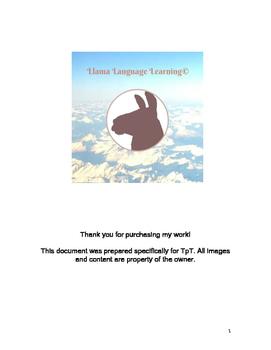 Spanish - Beginner/Intermediate Reading about Animals